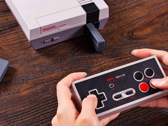 The NES Classic Returns Today But I'm More Excited About This Wireless Controller
