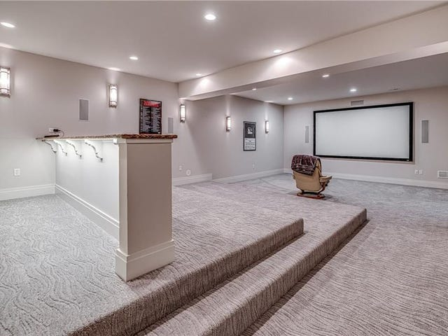 La Pittsburgh House di Phil Kessel è in vendita e ospita l'home theater più solitario del mondo