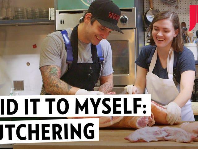I Fulfilled a Lifelong Dream and Butchered a Pig