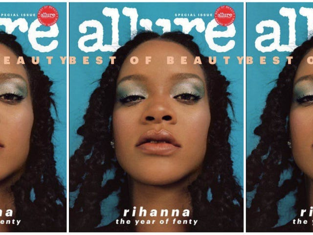 Respect the Fenty Effect: Rihanna Covers Allure's 'Best of Beauty' Issue as Fenty Beauty Turns 1