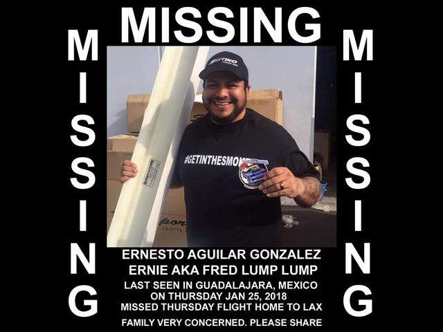 Help Find This Drifting Enthusiast Who's Been Missing In Mexico For Days