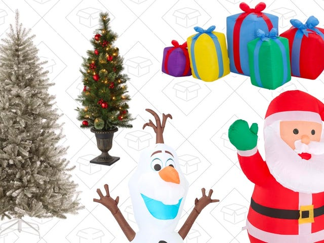 Score Discounts on Holiday Decor From Home Depot, Today Only