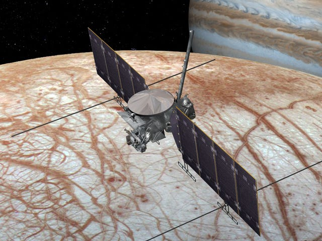 Congressman Divulges Unreleased Study to Win Support for Life-Hunting Mission to Jupiter's Moon Europa