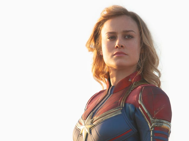 Neither Kevin Feige Nor Brie Larson Wanted Ms. Marvel's 'Bathing Suit' Costume in Captain Marvel