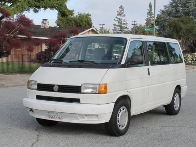 At $5,000, Does This 1993 VW EuroVan MV Totally Mean it's Van Time?