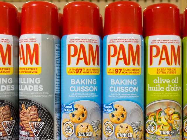 Throw Out Old Canisters of PAM Immediately