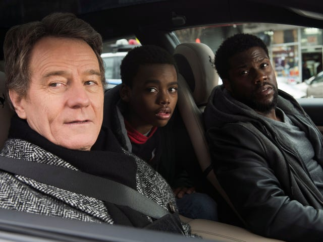 Kevin Hart helps Bryan Cranston loosen up in the pandering remake The Upside