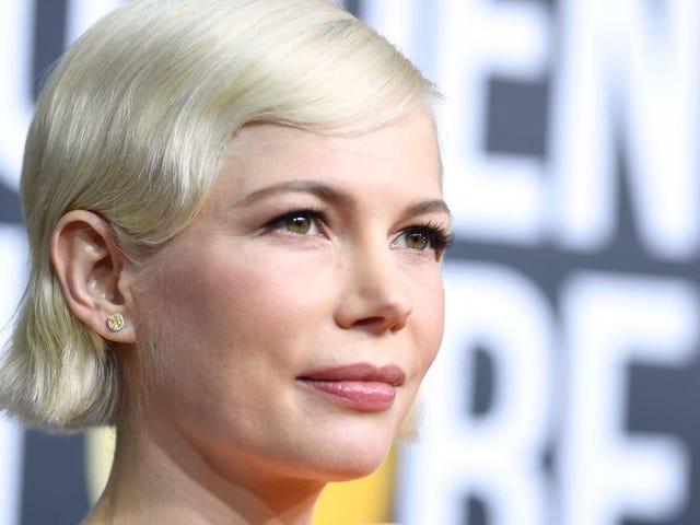 Michelle Williams förespråkar för aborttillträde i Golden Globes Acceptance Tal