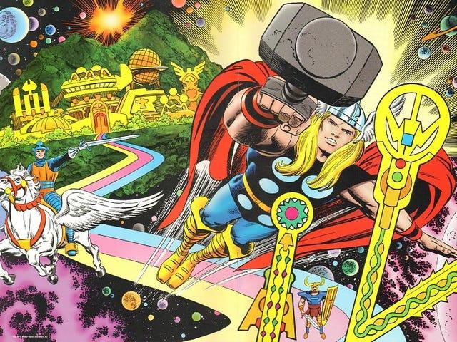 Iconic Thor Δημιουργός Walt Simonson Talks Σχετικά με τον Jack Kirby, το πιο σημαντικό Comics Storyteller ποτέ