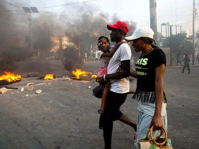 As Haiti Burns, Never Forget: White People Did That