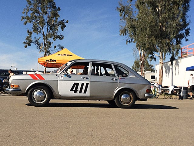 I'm Racing A Volkswagen 411 And Towing It Home In The Ultimate Act Of Vehicular Masochism