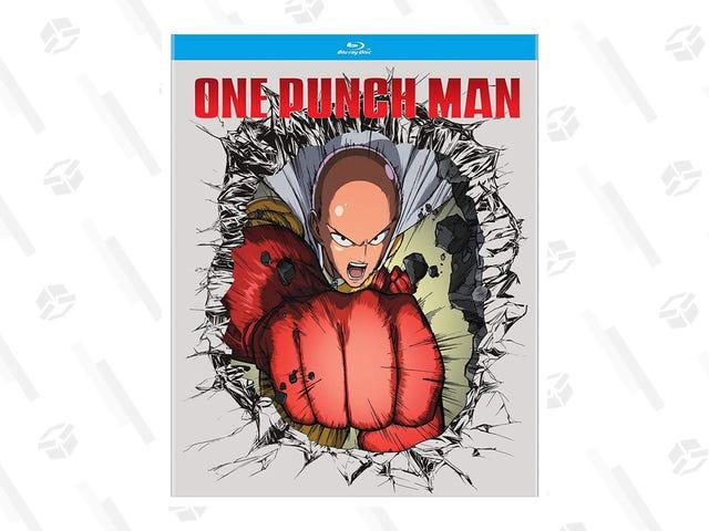 Obtenga la primera temporada de One-Punch Man por $ 16 en Blu-Ray