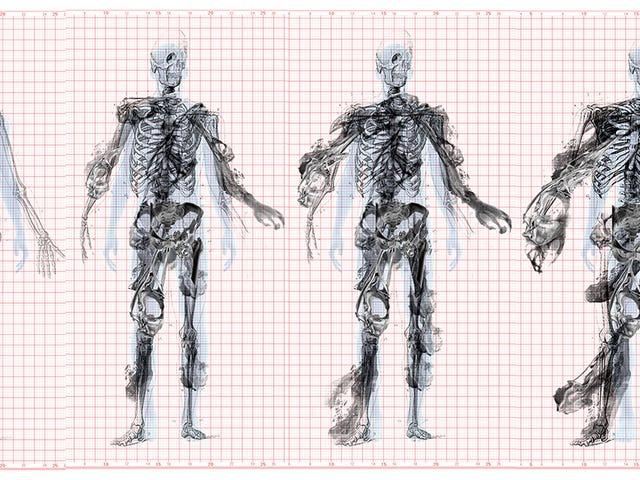 Disse kreftdeformerte skjelettene er inspirerende utformingen av en bygning