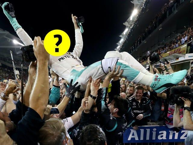 Kerro meille, kuka Nico Rosbergin vaihto on jo