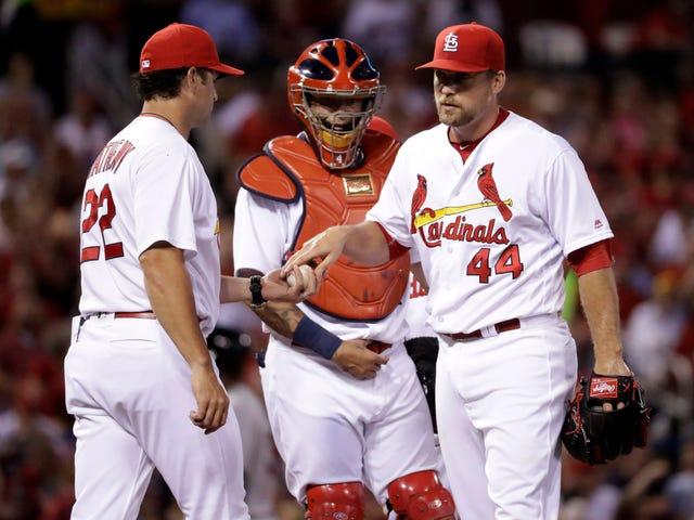 I cardinali hanno perso il loro 43 ° gioco