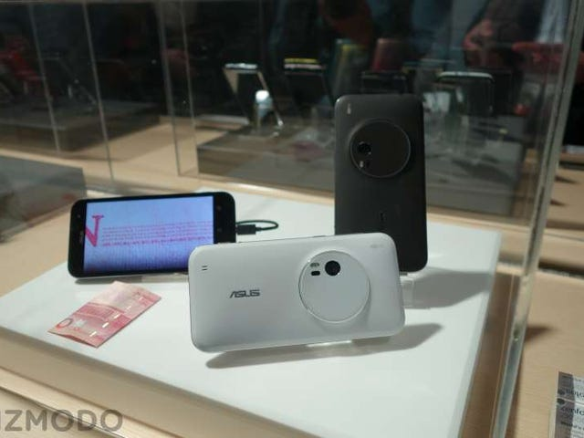 O primeiro Cameraphone do mundo que realmente pode ampliar (dizer queijo)
