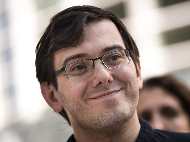 Martin Shkreli Says He'll Still Make Money From Jail, Will Read Philosophy
