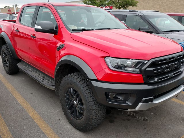 2019 Ford Ranger Raptor: Here It Is Hanging Out in Michigan