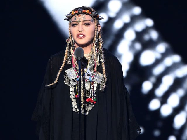 Madonna remembers Aretha Franklin by talking about Madonna