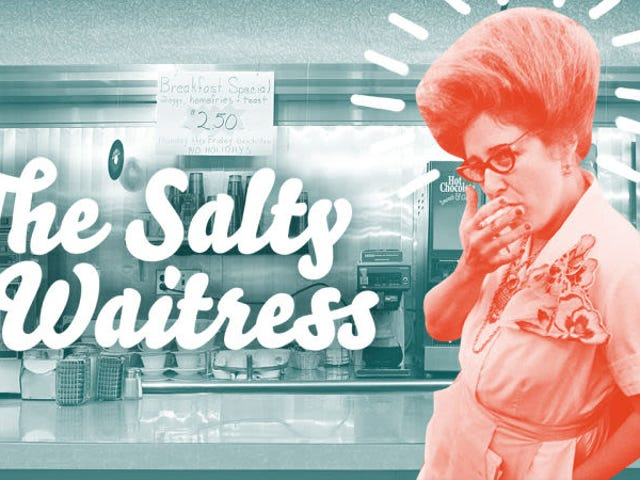 问咸味女服务员:为什么客户坚持堆叠他们的盘子?