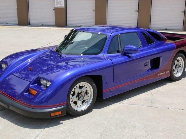 This One-Of-Two Consulier GTP Sport Was The Ugliest Way To Go Really Fast In The '90s