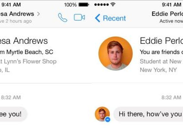 Facebook Messenger Now Has 'Caller ID' So You Know Who's Messaging