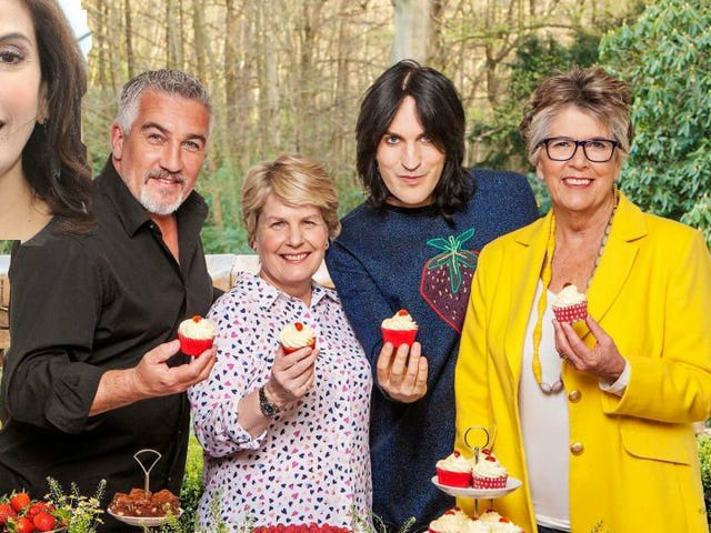What Is Teri Hatcher Doing in the Very British Cast of The Great Stand Up to Cancer Bakeoff?