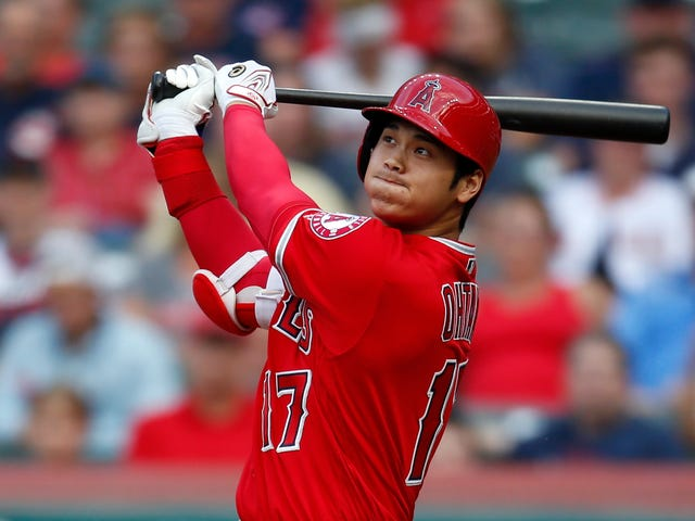 Shohei Ohtani Still Has That Fearsome Tater-Mashing Power