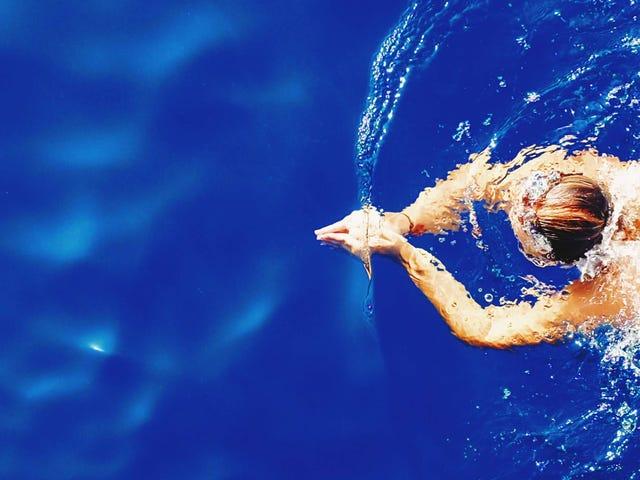 Hãy thử tập luyện 'Brick' để tăng cường bơi lội