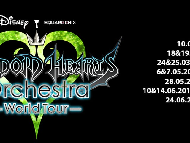 Kingdom Hearts Orchestra World Tour Coming 2017