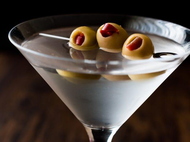 Lave seu Martini sujo com uísque