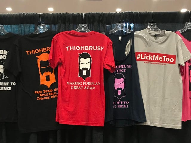 Let Us Consider the 'Thighbrush': The Bearded Manly Man's Pussy-Eating Brag