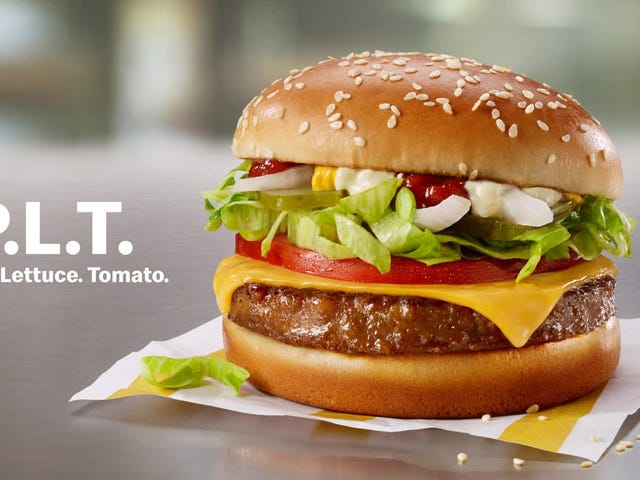 The newest entrant into the fake meat sweepstakes is... Mickey D's