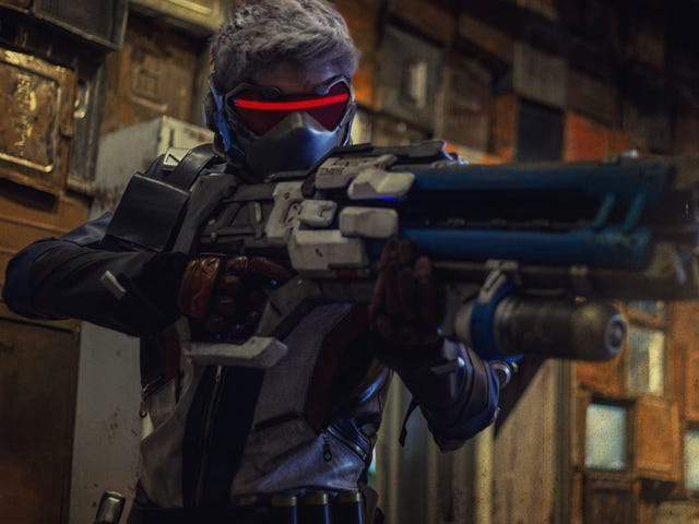 Soldier 76 Cosplay, Reporting For Duty