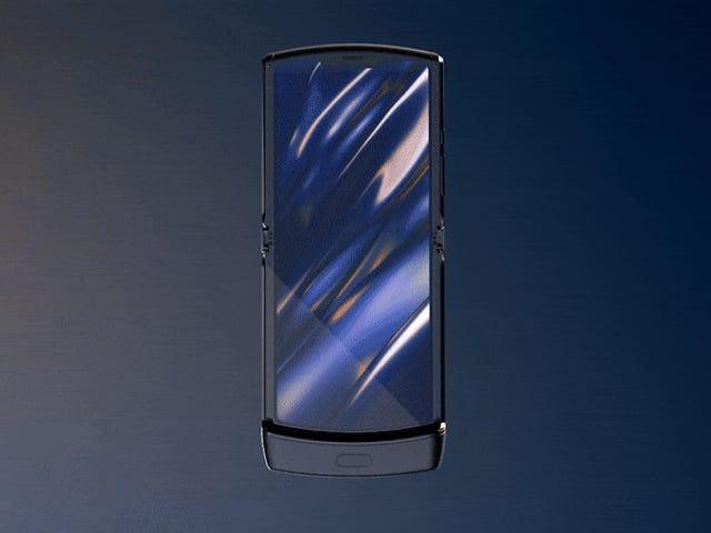 Το εικονικό Motorola Razr είναι πίσω, αυτή τη φορά με μια πτυσσόμενη οθόνη