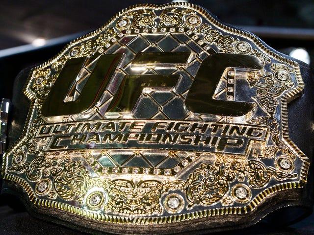 UFC Interim Title Belts Don't Mean Shit