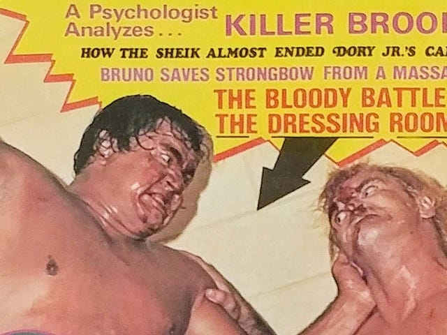 Wrestling Magazines Were Bloody, Dumb, And Sleazy, And I Loved Them