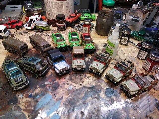 Jurassic fleet part 2