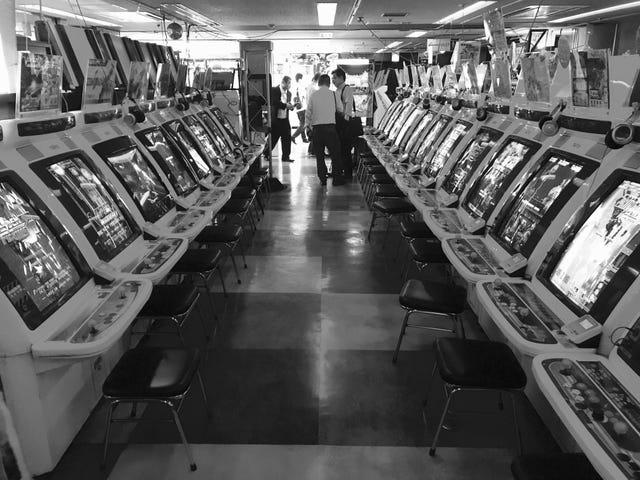 Arcade Life. Tokyo, Japan. By Eigotaku   Official Site