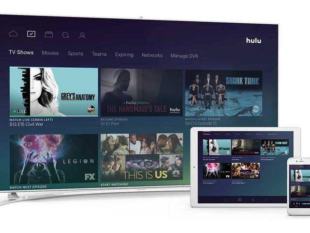 Le service de télévision en direct de Hulu est maintenant disponible en version bêta avec 50 chaînes pour 40 $ par mois