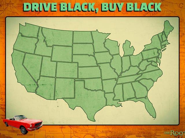 黒をドライブし、黒を購入する: <i>The Root</i>著者ローレンスロスと共に史上最も黒いロードトリップに行く