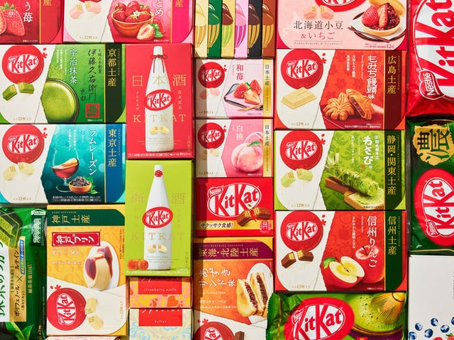 A Peek into the World of Japanese Kit Kats