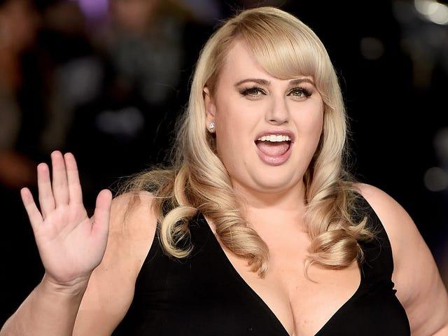 Rebel Wilson Berfikir 'Gadis Besar Lebih Baik dalam Comedy'