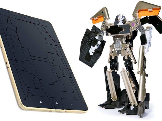 Transforming Xiaomi Tablet Is More Than Meets the Eye