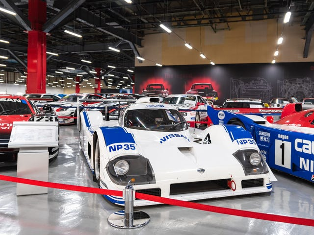 Nissan's Zama Heritage Collection Is a Paradise of Skylines, Oddballs and Race Cars (And It's Free)