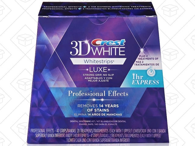 Save $5 On Your Favorite Crest 3D Whitestrips