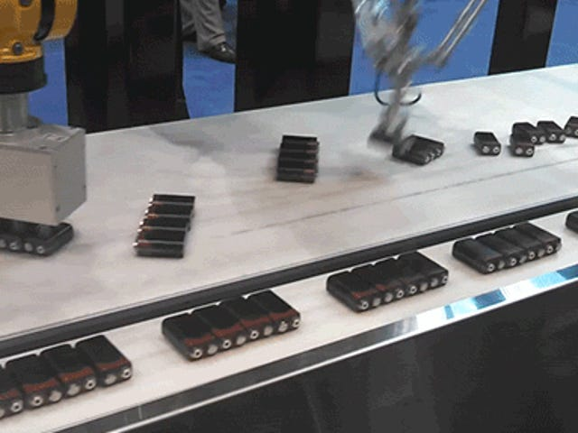 These Totally Mesmerizing Robots That Sort Batteries Are Just Awesome