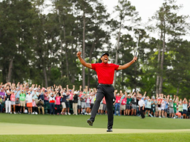 I'm Gonna Go On Ahead and Count Tiger Woods' Win as Another One for the Black Community. Cool? Let's Fight
