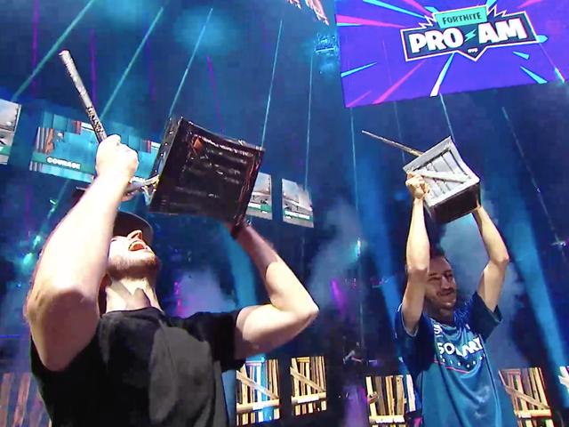 Airwaks и RL GRIME выиграли Кубок мира Fortnite Pro-Am, забрав домой 1 000 000 долларов для американской Civi