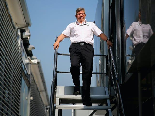 Ross Brawn blir ny Sporting boss av F1, men Bernie lämnar inte än: Rapporter
